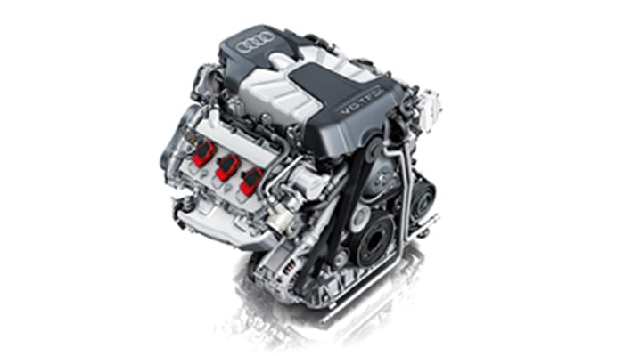 Audi S5 Coupe Engine