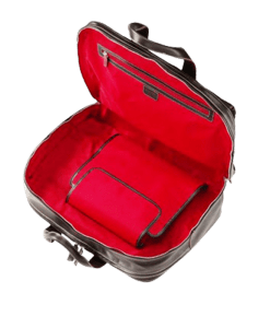 Ferrari 48h Leather Bag Open