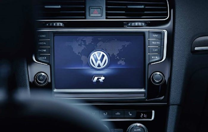 Volkswagen Golf-R Driving Profile Selection