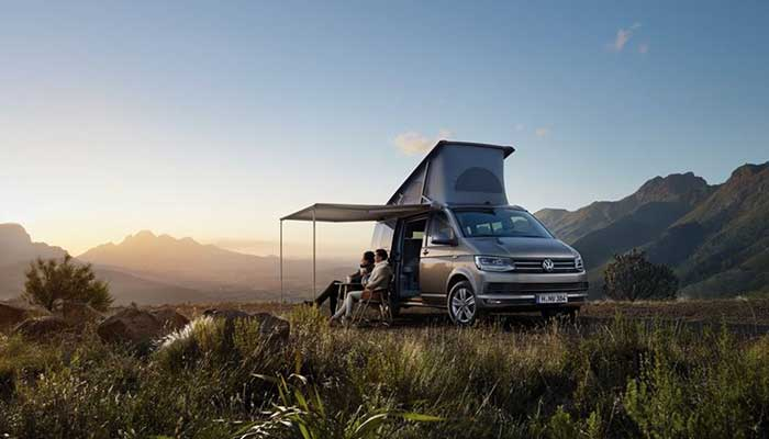 VW California Ocean Camping