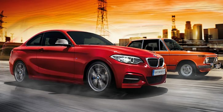 BMW 2 Series Coupe Sport Styling and Performance