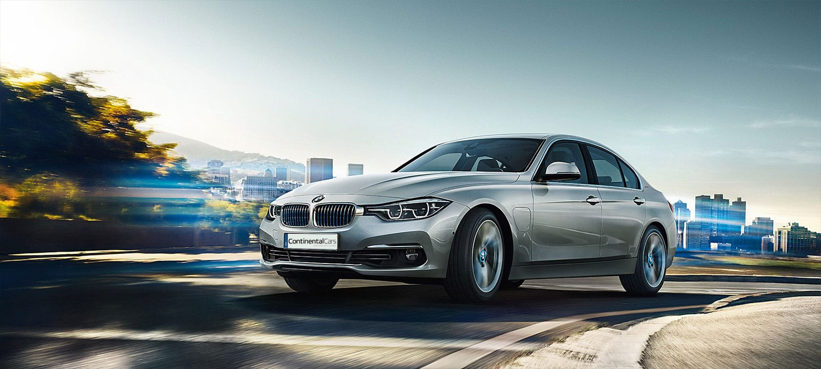 BMW 330e iPerformance Sedan Hero Image