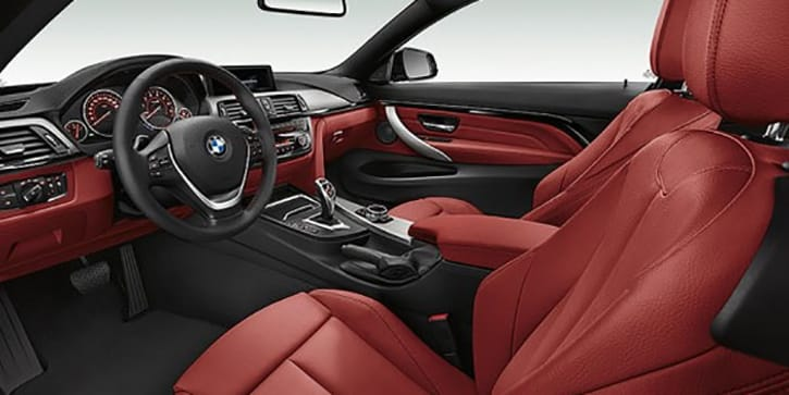 BMW 4 Series Coupe - Unsurpassed Interior Elegance