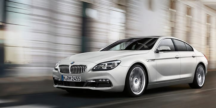 BMW 6 Series Gran Coupe Eyebrow Raising Acceleration