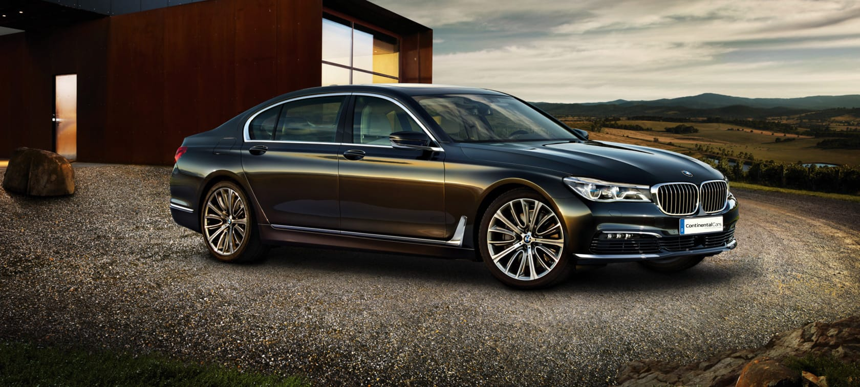 BMW 7 Series Sedan Hero Image