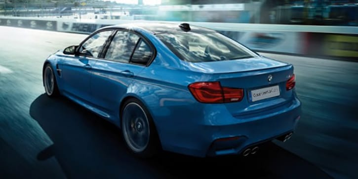 BMW M3 Sedan Forget The Garage You'll Need Cage