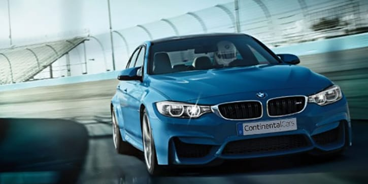 BMW M3 Sedan Superior Driving Dynamics