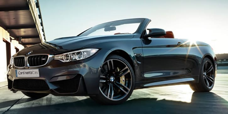 BMW M4 Convertible Adrenalin Charged Performance
