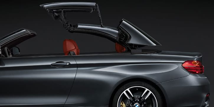 BMW M4 Convertible Extraordinary Top Down Technology