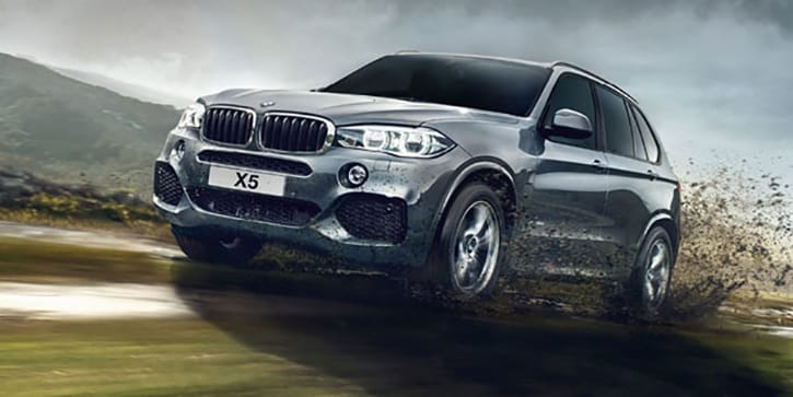 BMW X5 Sporty Good Looks