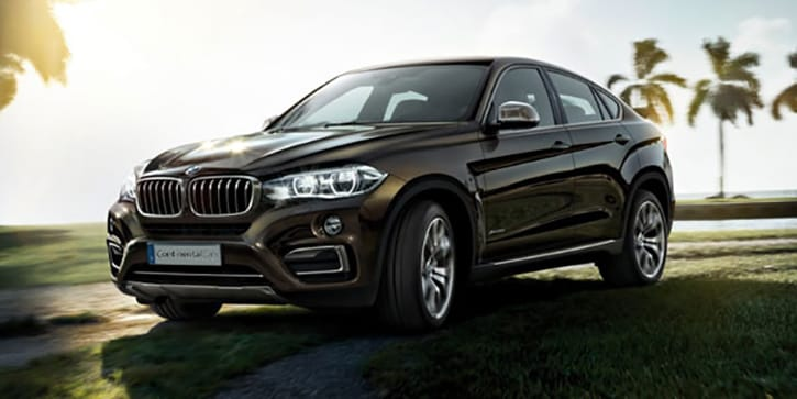 BMW X6 Coupe Silhouette