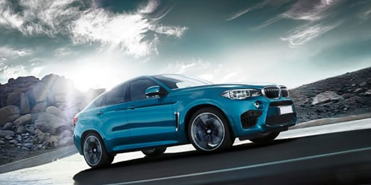 BMW X6M Brakes Like a Race Car
