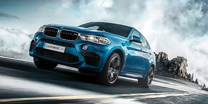 BMW X6M Fast At Any Speed
