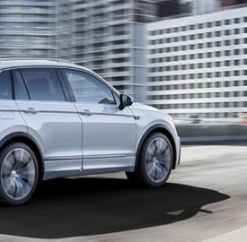 VW Tiguan Best In Class Award 2016