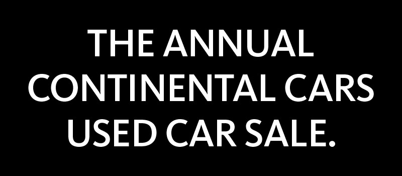 Annual Used Car Sale
